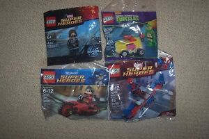LEGO POLYBAGS LOT OF 4 FOR $40