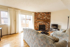 Fully furnished three bedroom townhouse