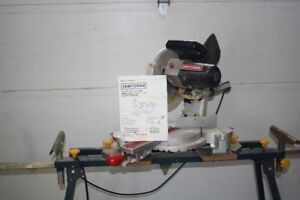 10in Sliding Compound Mitre Saw with stand