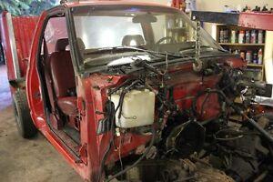 CAB ONLY 1994 GMC 4X4 5 SPEED 2 DOOR CAB