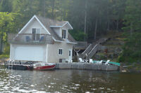 Beautiful Caddy Lakefront cottage for sale