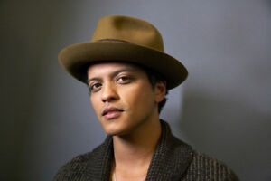 Bruno Mars- Section 106, Row 21- Sunday, Sept. 23- ACC