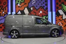 2017 VW CADDY MAXI C20 2.0 TDI 160PS LV SPORTLINE PACK INDIUM GREY