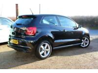 2013 63 VOLKSWAGEN POLO 1.2 R-LINE STYLE AC 3D 60 BHP