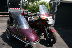 Gold Wing and Sidecar for sale