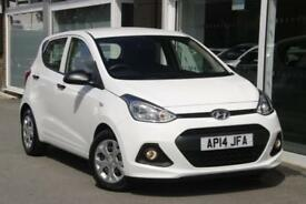 2014 Hyundai i10 1.0 S Petrol white Manual