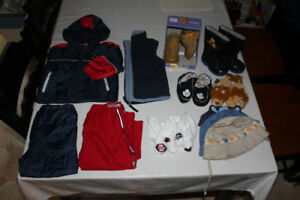 Large lot of Boy's winter/spring clothing size 18-24 months