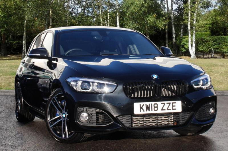 2018 Bmw 1 Series 118i M Sport Shadow Edition 5 Door Petrol Black Automatic In Milton Keynes Buckinghamshire Gumtree