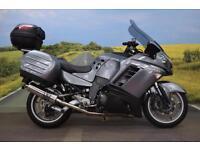 Kawasaki GTR1400 **Kawasaki Top Box, Kawasaki Panniers, ABS, Tank Pad**
