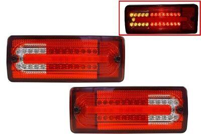 LED Rückleuchten Für Mercedes G-Klasse W463 1989-2015 Rot klar