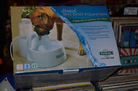 DRINKWELL BIG DOG FOUNTAIN WATER BOWL: BRAND NEW NEVER EVER USED