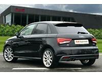 2017 Audi A1 Sportback S line 1.4 TFSI 125 PS S tronic Semi Auto Hatchback Petr