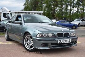 BMW 5 SERIES 525d Sport (green) 2003