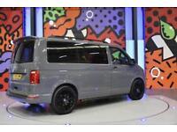 2015 VW TRANSPORTER T6 SWB TDI 160PS 8SEAT WINDOW VAN LV SPORTLINE PK PURE GREY