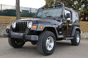 2002 Jeep TJ Sport - 6 Speed Manual - Hard and Soft Top