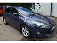 2012 12 Ford Focus 1.6TDCi ( 105ps ) ECOnetic Zetec Diesel 70+ Mpg £20 Road Tax