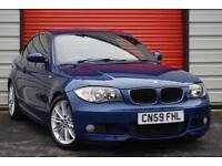 2009 59 BMW 1 SERIES 2.0 120D M SPORT 2D 175 BHP DIESEL