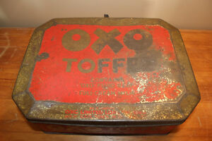 Old Large OXO Toffee Tin - Rare London Ontario image 6