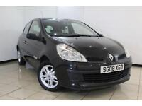 2008 08 RENAULT CLIO 1.1 RIP CURL 16V 3DR 75 BHP