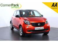 2015 SMART FORFOUR PASSION HATCHBACK PETROL