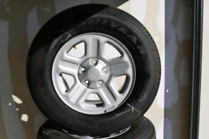 Brand new Jeep tires goodyear