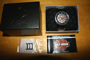 Montre Harley Davidson Style Squelette