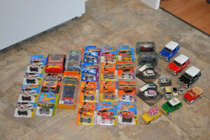 Classic Austin Mini toy car collection
