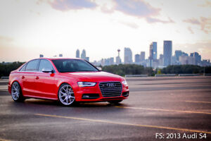 2013 Audi S4 (Ext Warranty-10yr/180km, Rare 6spd, Stg 2 + more!)