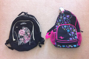 Girls School Backpacks - 2 or the 3 are new
