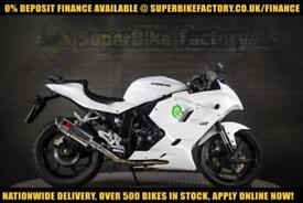2017 66 HYOSUNG GT125 RC 125CC 0% DEPOSIT FINANCE AVAILABLE