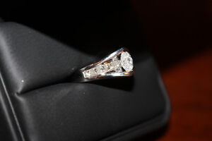 Trades Considered-Ladies Platinum Diamond Ring for Mother's Day!