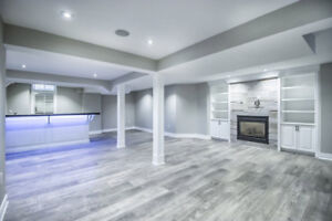 BASEMENT finishing and renovations. KITCHEN installation.