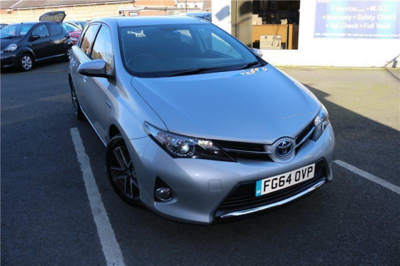 2015 64 TOYOTA AURIS 1.8 VVT-I ICON PLUS 5D AUTO 98 BHP