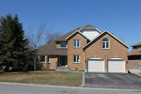 Executive Home Backing onto Conservation Land!