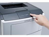 New Lexmark A4 Mono Laser Printer
