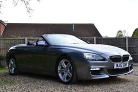 2012 BMW 6 SERIES 3.0 640D M SPORT AUTO CONVERTIBLE DIESEL