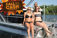Fall Into Cash Sales Event/Sunchaser Pontoon BoatDS 20 - $17,995