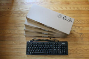5 NEW Acer Keyboards PR1101 PS2