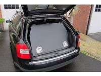 Steel Security Box for AUDI A4 Avant.