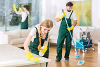 We do all the cleaning