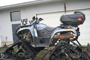 2006 Arctic Cat 650 with Tracks AND Tires!