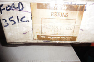 FORD, MUSTANG,COUGAR,FAIRLANE, 351 CLEVLAND,  PISTONS