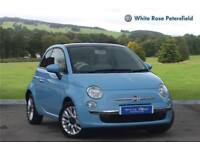 2015 Fiat 500 1.2 Lounge 3dr Petrol blue Manual