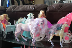barbie dolls and accs