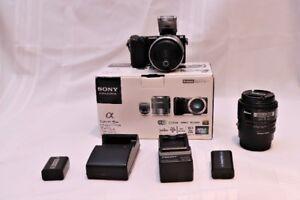 Sony Nex 5R kit with Nikon 50mm 1.8