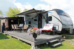 roulotte camping hatley
