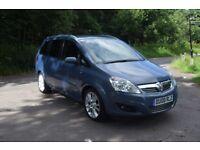 Vauxhall Zafira 1.9CDTI DESIGN DPF 150PS (blue) 2008