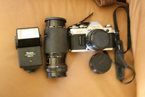 Canon AE1 Package