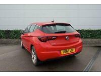 2019 Vauxhall Astra 1.4T 16V 150 SRi Nav 5dr [Start Stop] Hatchback Manual Hatch