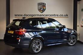 2012 62 BMW X3 3.0 XDRIVE35D M SPORT 5DR AUTO 309 BHP DIESEL